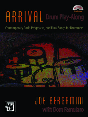 Arrival Drum Play-Along book/CD