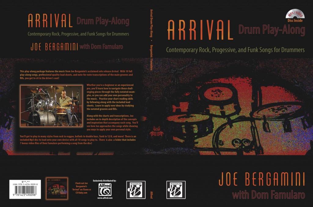 Arrival Drum Play Along by Joe Bergamini