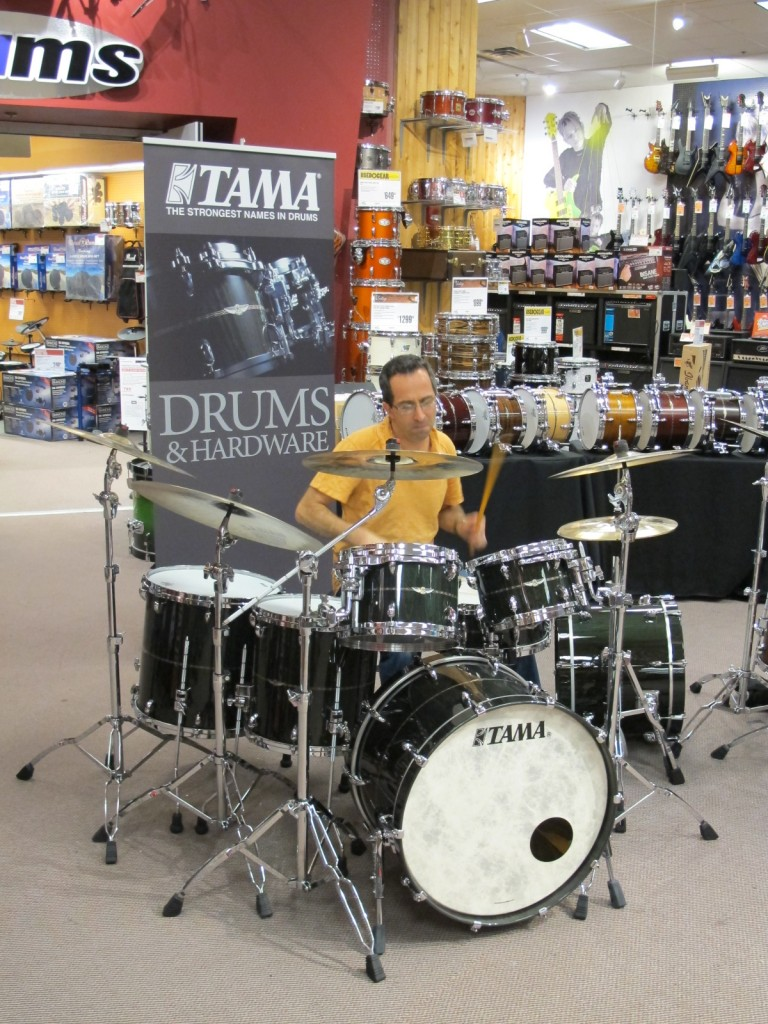 Tama Star Drums Clinic, 2013