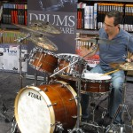 Tama Star Drums event with Joe B 1