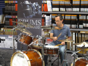 Tama Star Drums event with Joe B 2