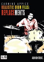 Realistic Drum Fills Vol. 1: Replacements (Book/MP3 disc)